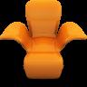 orangeseat large png icon
