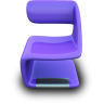 purpleseat large png icon