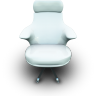 whitevinilseat large png icon