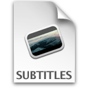 subtitle Png Icon