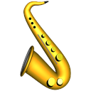 saxophone Png Icon