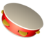 tambourine large png icon