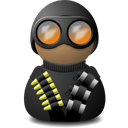 night vision uniform black png icon