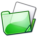 folder green Png Icon