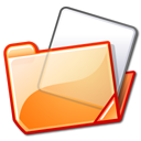 folder orange Png Icon