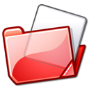 folder red Png Icon