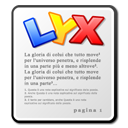 lyx Png Icon