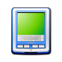 pda blue Png Icon