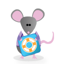 officemouse float Png Icon