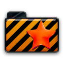 orange alarm Icon 12 png icon