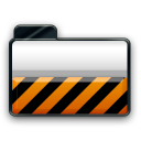 orange alarm Icon 20 png icon