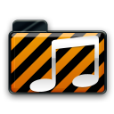 orange alarm Icon 21 png icon