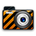 orange alarm Icon 22 png icon