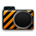 orange alarm Icon 23 png icon