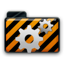 orange alarm Icon 24 png icon
