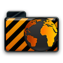 orange alarm Icon 30 png icon