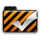 orange alarm Icon 35 png icon