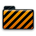 orange alarm Icon 36 png icon