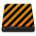orange alarm Icon 40 png icon