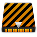 orange alarm Icon 43 png icon
