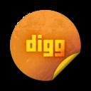 digg webtreats Png Icon