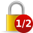 halfencrypted Png Icon