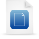 file document paper blue g11822 Png Icon