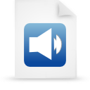 file document paper blue g11908 Png Icon