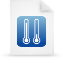 file document paper blue g11957 Png Icon