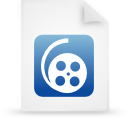 file document paper blue g12008 Png Icon