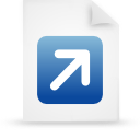 file document paper blue g12771 Png Icon