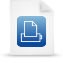 file document paper blue g12875 Png Icon