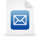 file document paper blue g12920 Png Icon