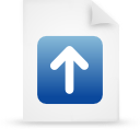 file document paper blue g13271 Png Icon