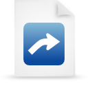 file document paper blue g13424 Png Icon