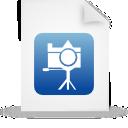file document paper blue g13426