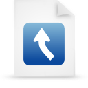 file document paper blue g13436 Png Icon