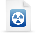 file document paper blue g13443 Png Icon