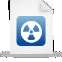 file document paper blue g13443
