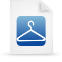 file document paper blue g13861 Png Icon