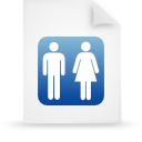 file document paper blue g14212 Png Icon