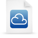 file document paper blue g14303 Png Icon