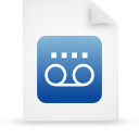 file document paper blue g14640 Png Icon
