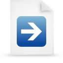 file document paper blue g14772 Png Icon