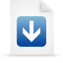 file document paper blue g14796 Png Icon