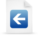 file document paper blue g14808 Png Icon