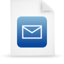 file document paper blue g14977 Png Icon