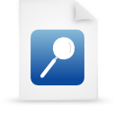 file document paper blue g14989 Png Icon