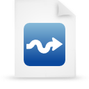 file document paper blue g15006 Png Icon