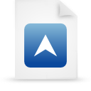file document paper blue g15279 Png Icon